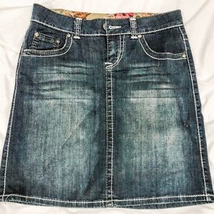 Downeast Denim/Jean skirt size small